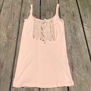 J. Crew Tops - Jcrew size XS cream/beige  colored tank